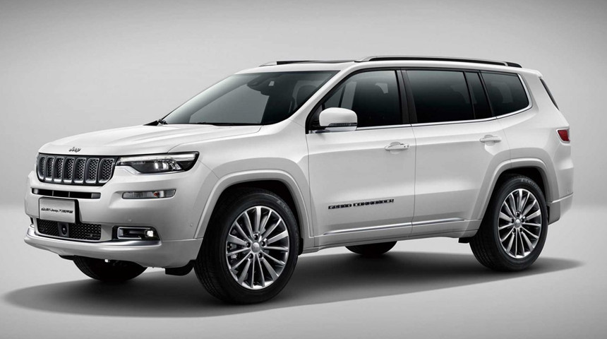 Jeep Grand Wagoneer Concept Design Teased by FCA