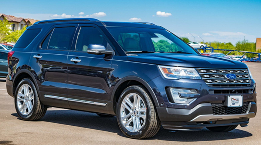 Ford Explorers Being Recalled For Faulty Roof